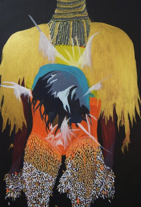 Gha Den Dini#2 «celle qui est traversée par la lumière»