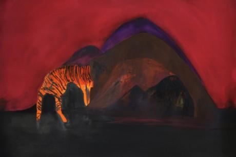 Tiger #1 (dessin à quatre mains avec Pat Lemos)