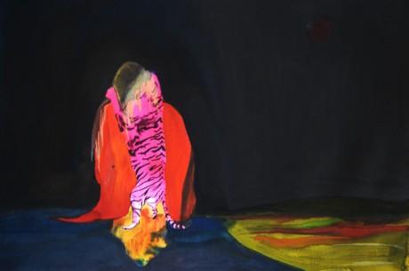 Tiger #2 (dessin à quatre mains avec Pat Lemos)