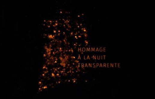 Exposition HOMMAGE À LA NUIT TRANSPARENTE