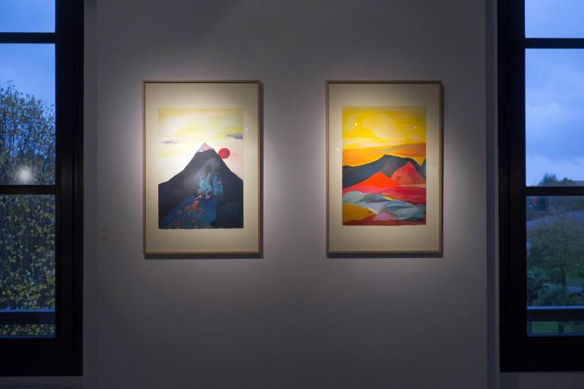 Exposition HOMMAGE À LA NUIT TRANSPARENTE en collaboration avec l'artiste Pat Lemos